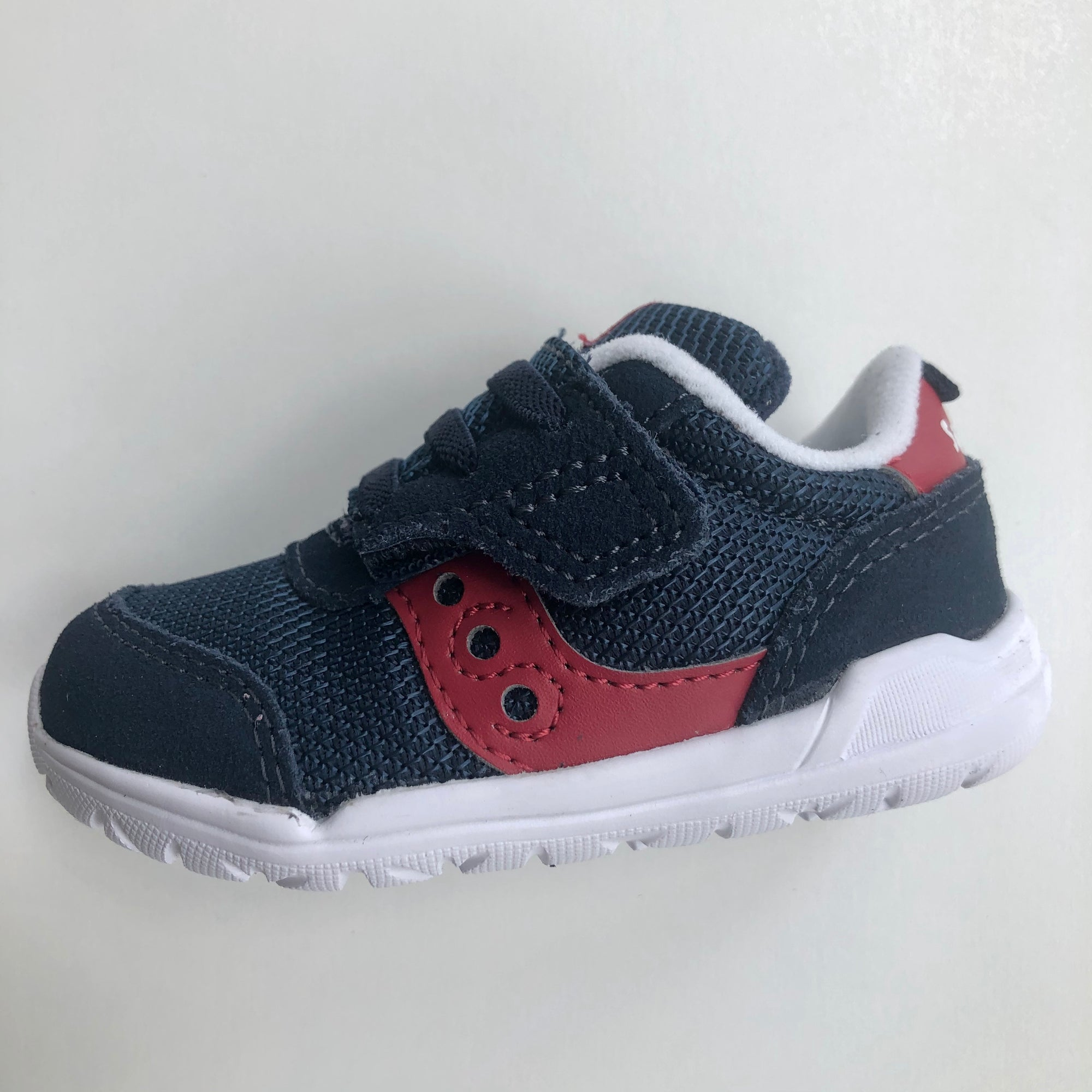 Saucony Jazz Riff - Navy/Red