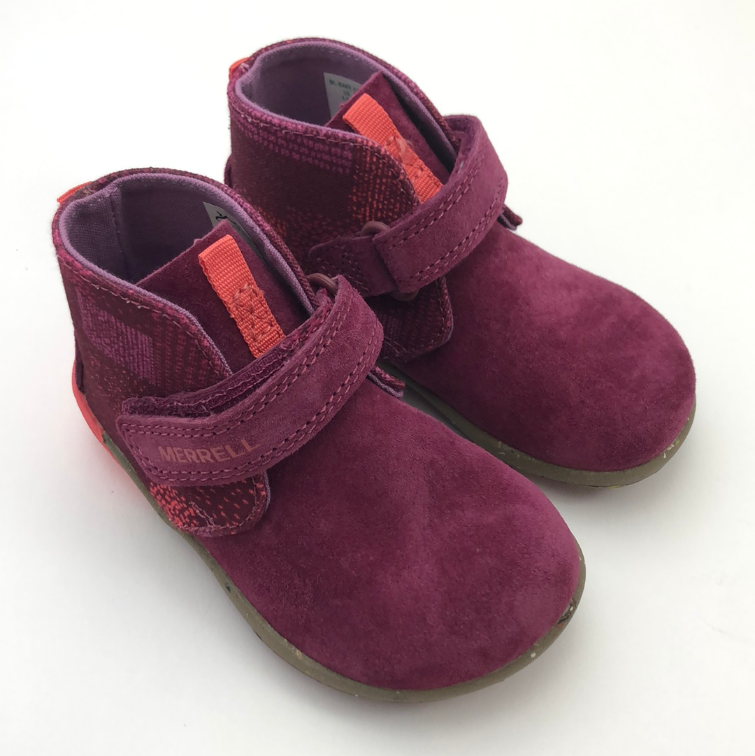 Merrell Bare Steps Boot Berry