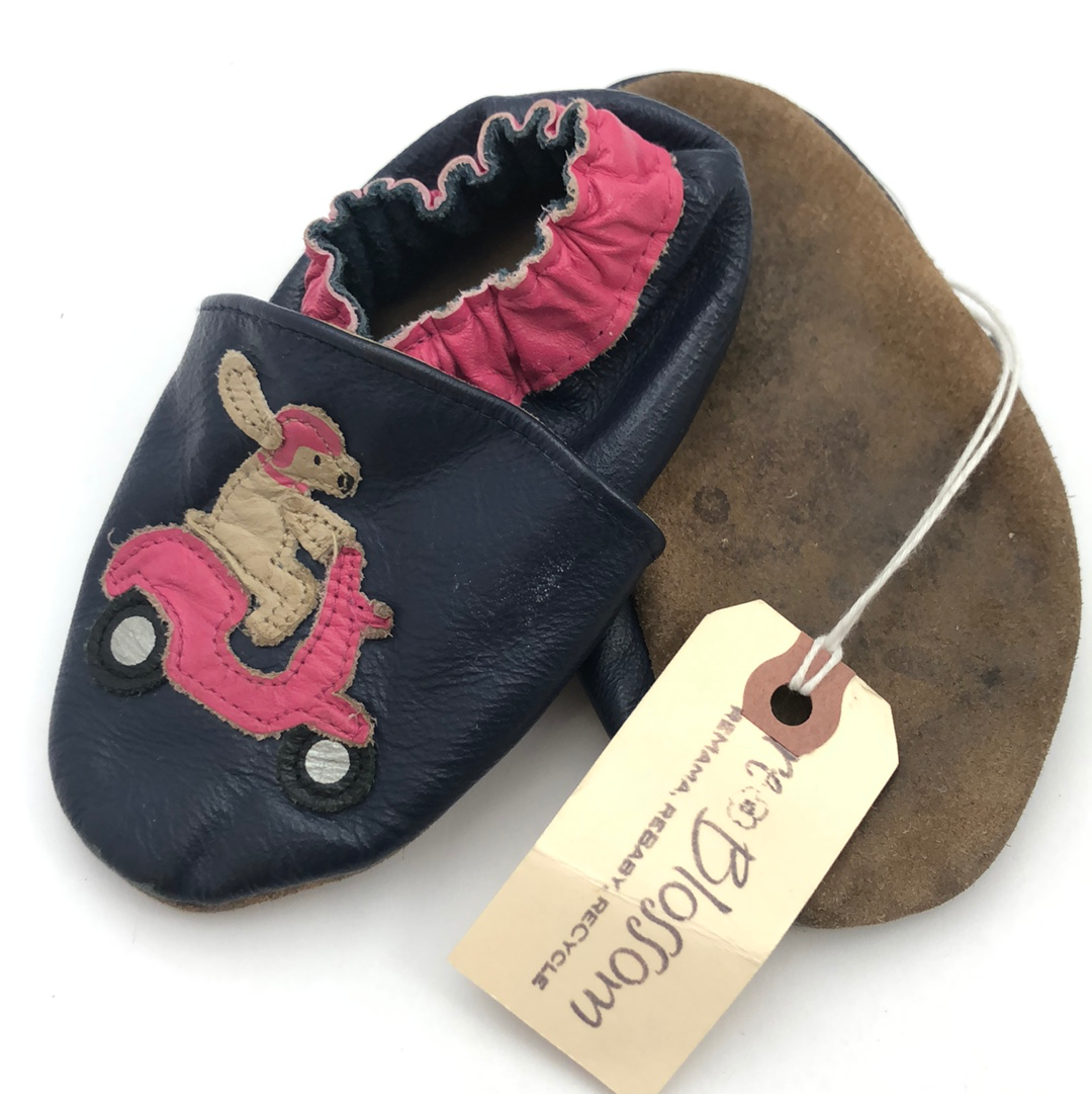 Resale Robeez 12-18 m Dogs on Scooters Soft Sole Shoes
