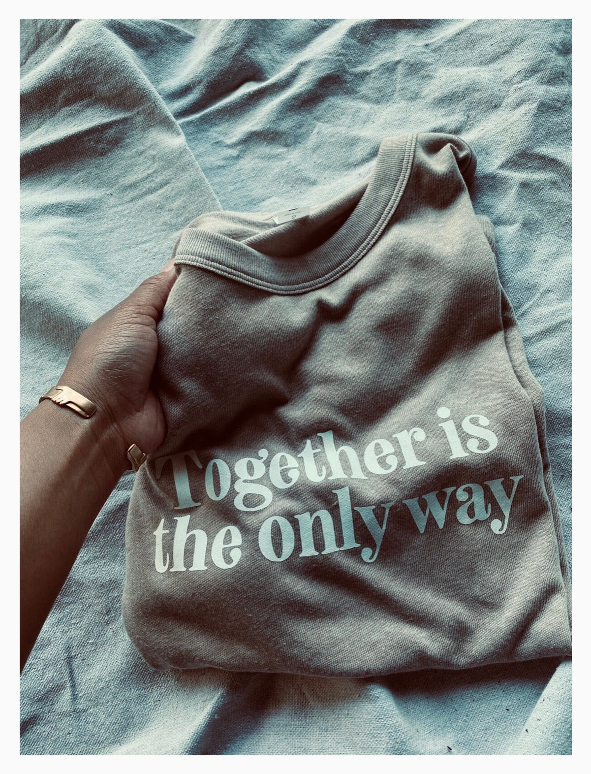 "Know Purpose ""Together is the Only Way"" T-shirt"