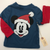 Resale 12 m Disney Mickey Mouse Santa Shirt