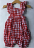 Resale 6-12 months Baby Gap Gingham Jumper