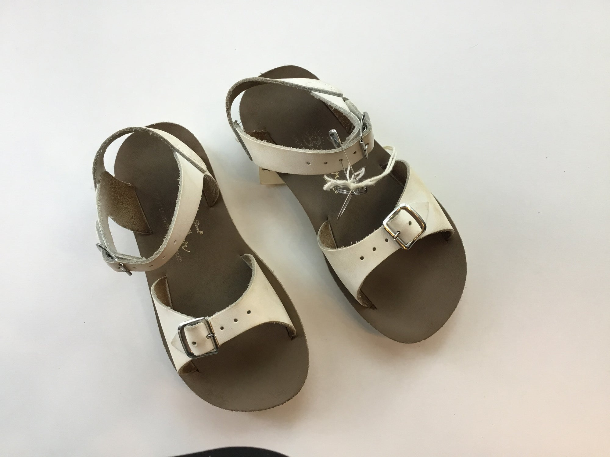 C11 Salt Water Surfer White Sandals