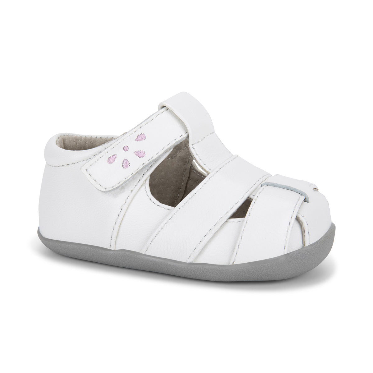 See Kai Run Brook III Infant - White/Pink