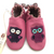 Resale Robeez 18-24m Pink Owl Soft Sole Shoes