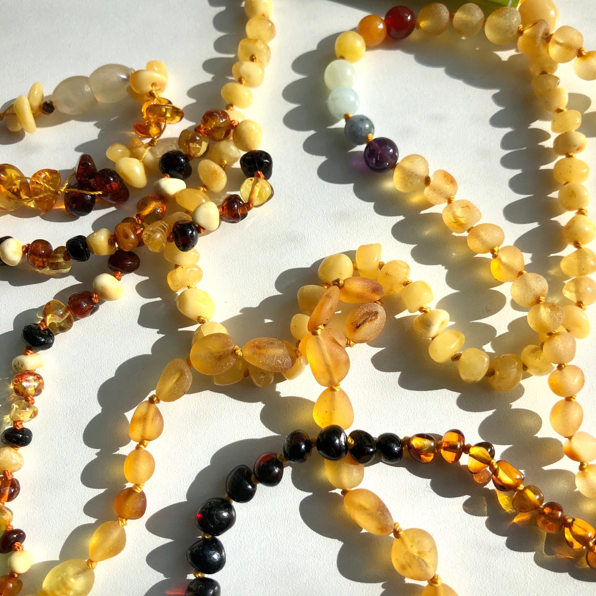 Momma Goose Baltic Amber Necklaces