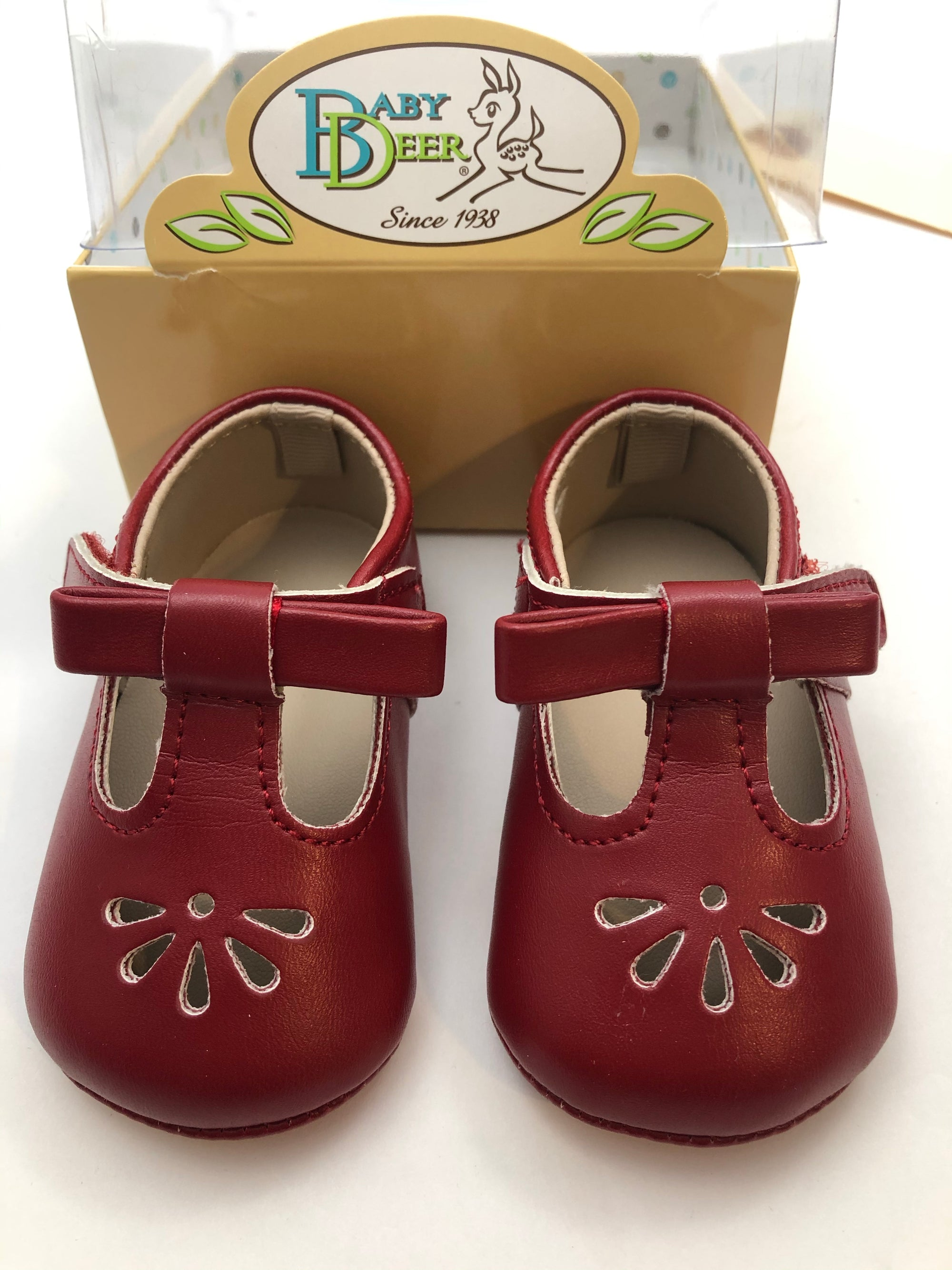Resale C1 Baby Deer Red Mary Jane Shoes