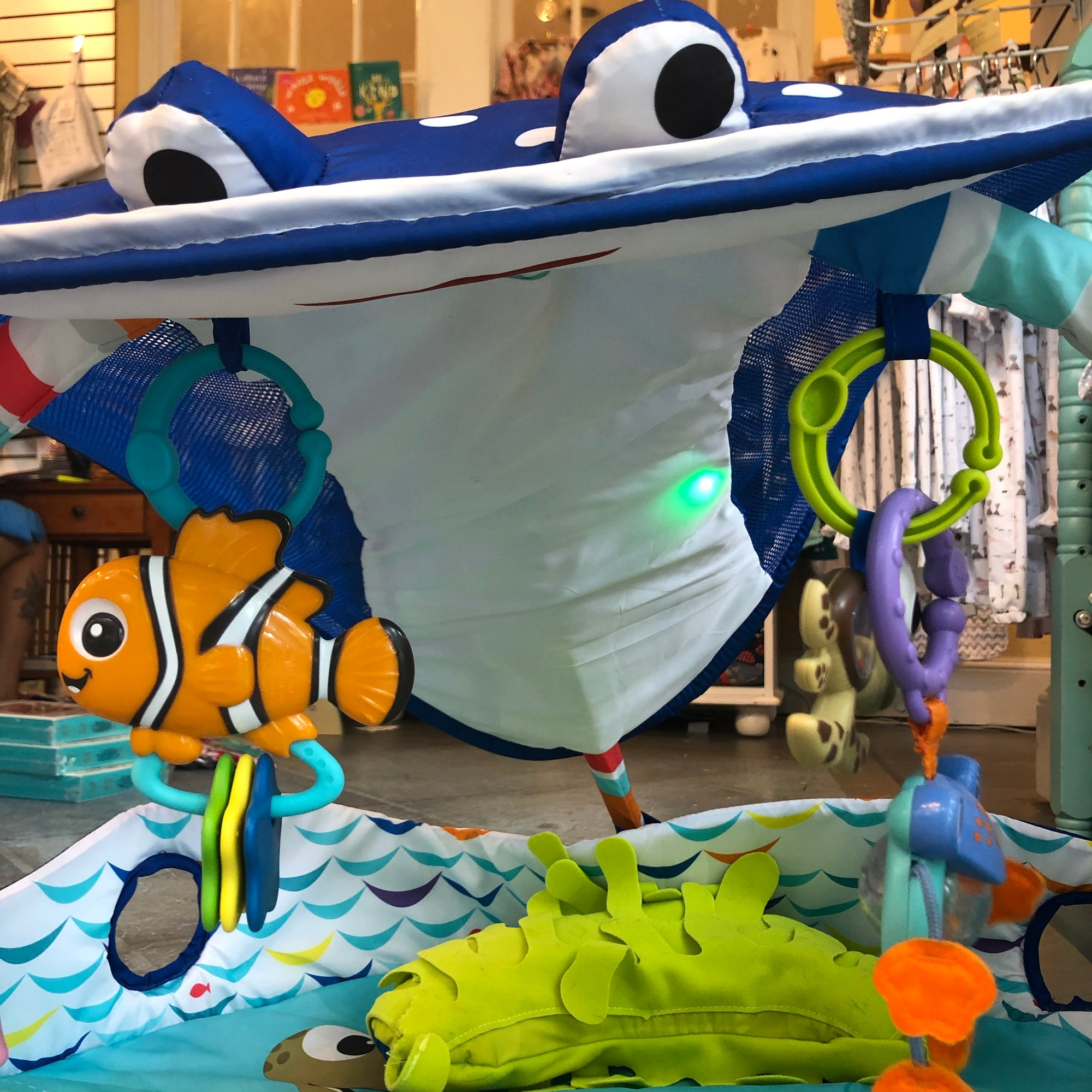 Disney Finding Nemo Ocean Lights Activity Play Gym
