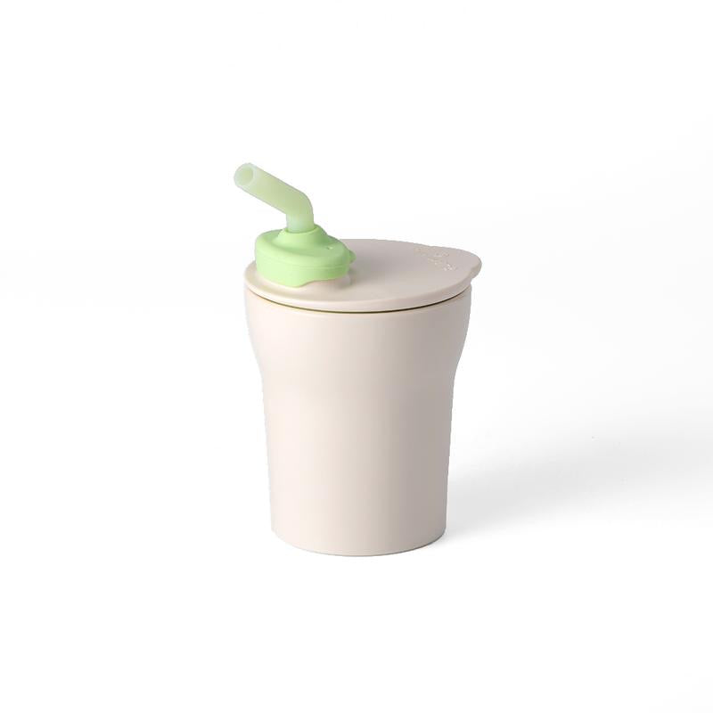 Miniware 1-2-3 Sip! Cup in Vanilla + Key Lime