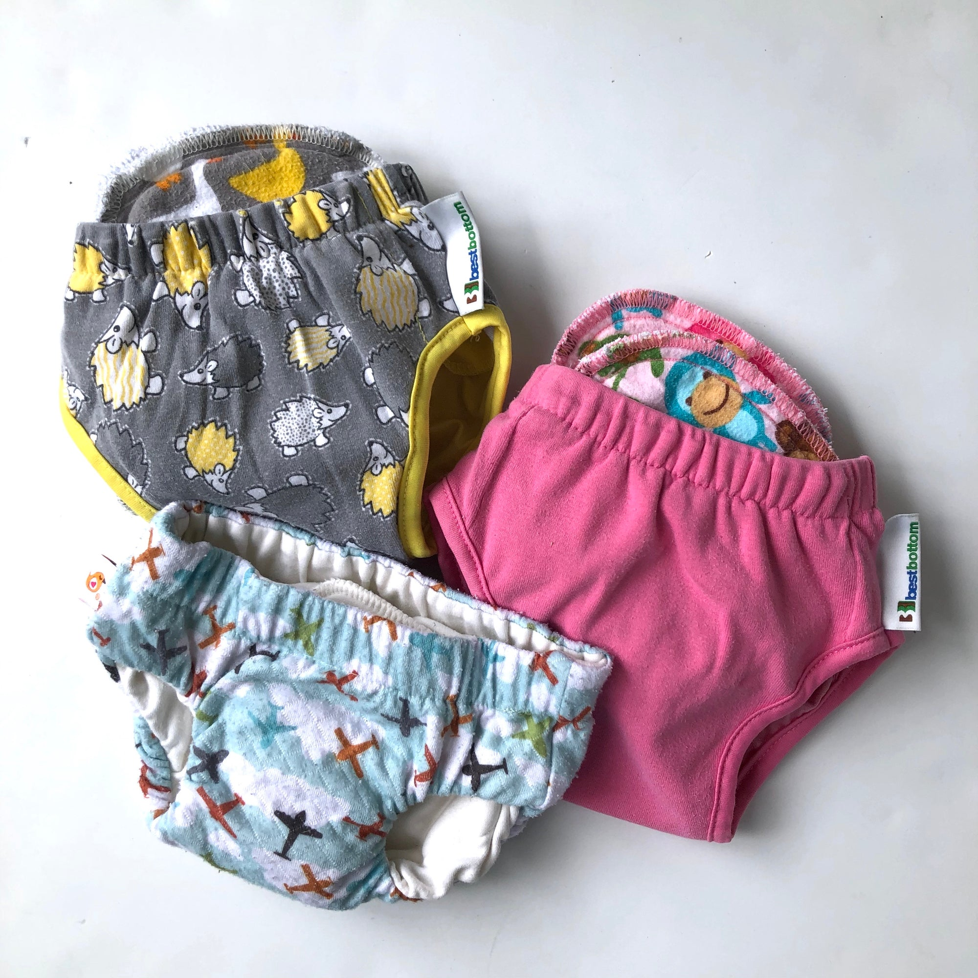 Resale Diapers Cloth Training Pants Size Small Bundle