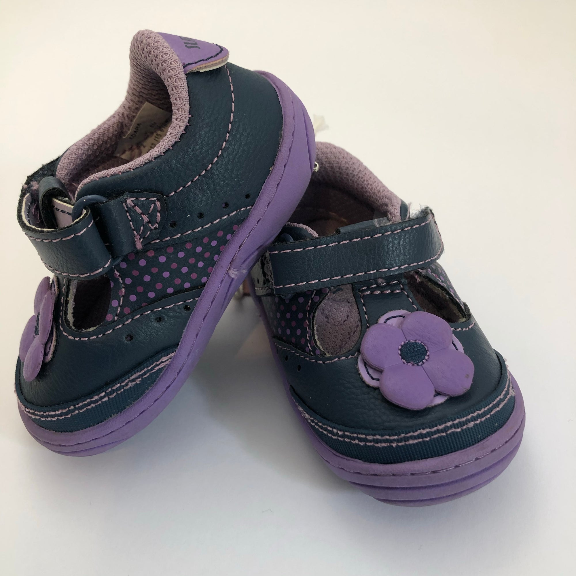 Resale C2 Surprize by Stride Rite Purple Floral Shoes