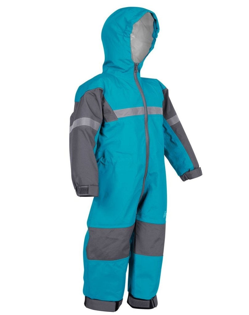 Oakiwear Trail One-Piece Rain Suit - Celestial Blue