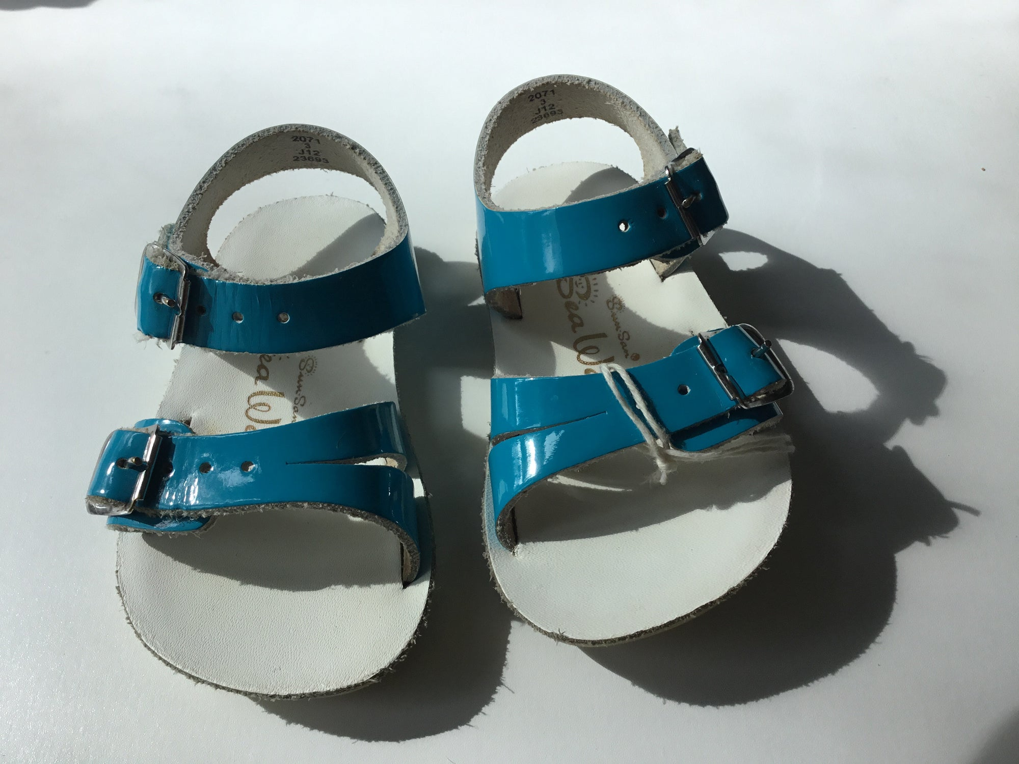 C3 Sun-San Sea Wees Turquoise Sandals