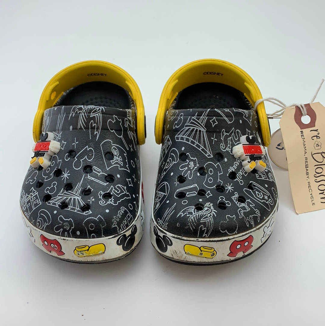 Resale C6 Mickey Mouse Crocs