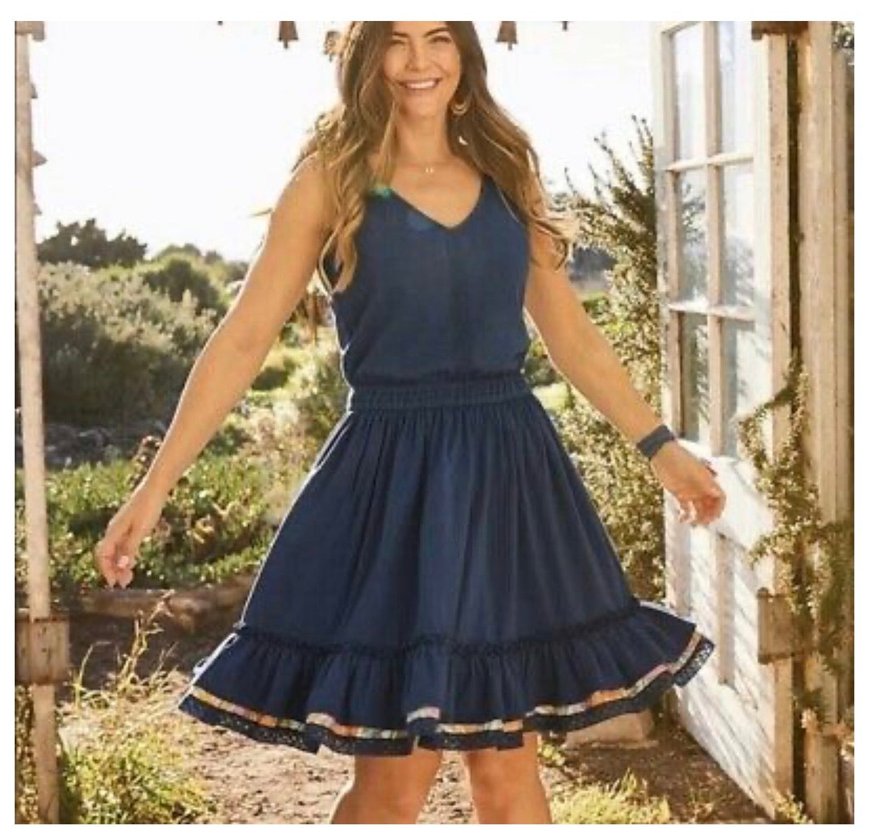 Matilda Jane Blue Daydream Dress - Small