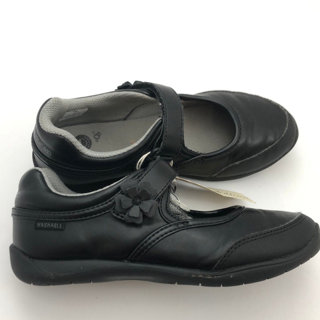 J1.5 Stride Rite Washable Black Mary Janes