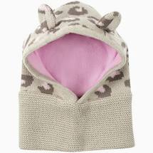 ZOOCCHINI Baby / Toddler Knit Balaclava Hat - Kitty