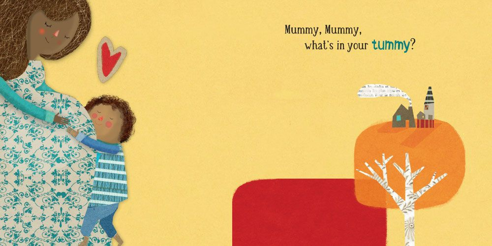 Mummy What's in Your Tummy Board Book