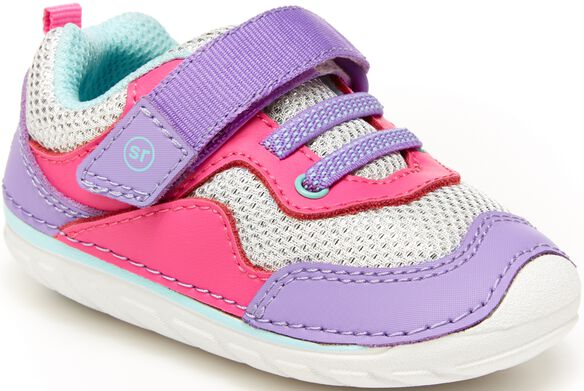 Stride Rite Soft Motion Rhett Sneaker - Pink/Purple