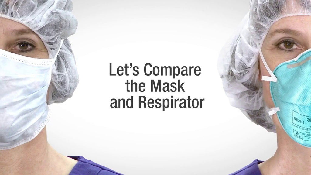 Difference between N95 and Surgical Masks