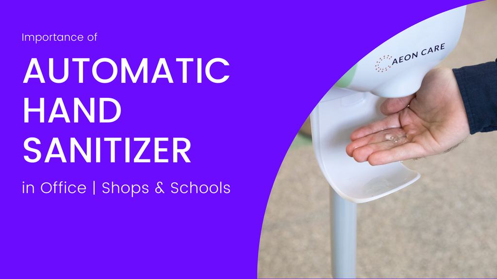 Importance of Hand Sanitizer Dispenser, Benefits of automatic hand sanitizer.