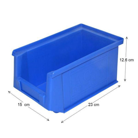 Storage Bin 13.5Kg Capacity - Pack of 3 Nos - Aeon Care