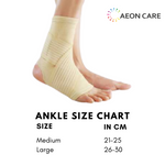 size chart for ankle binder. How to measure size for ankle binder