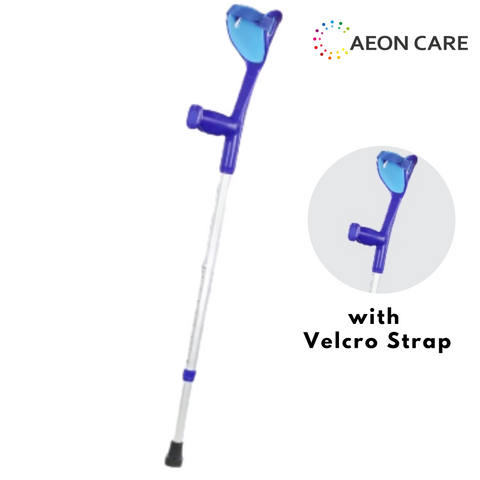 Velcro Strap Elbow Crutch is used for mobility aids