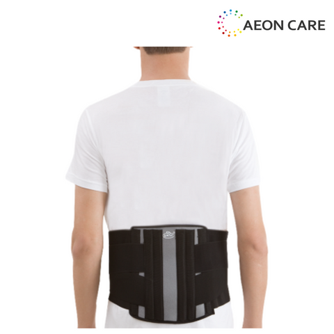 Elnova Lumbo Sacral Corset is used as back pain belt. The price of the Dyna's Elnova Lumbosacral Corset back pain belt is very effective effective comparing to the tynor back pain belt.