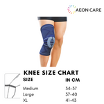 knee brace size chart. How to measure size for Knee Brace