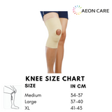 Size chart for Sego Knee Cap. Knee Cap is available at best price in Chennai