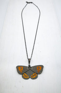 This Butterfly Pendant is hand crafted in NZ by Adele Stewart.