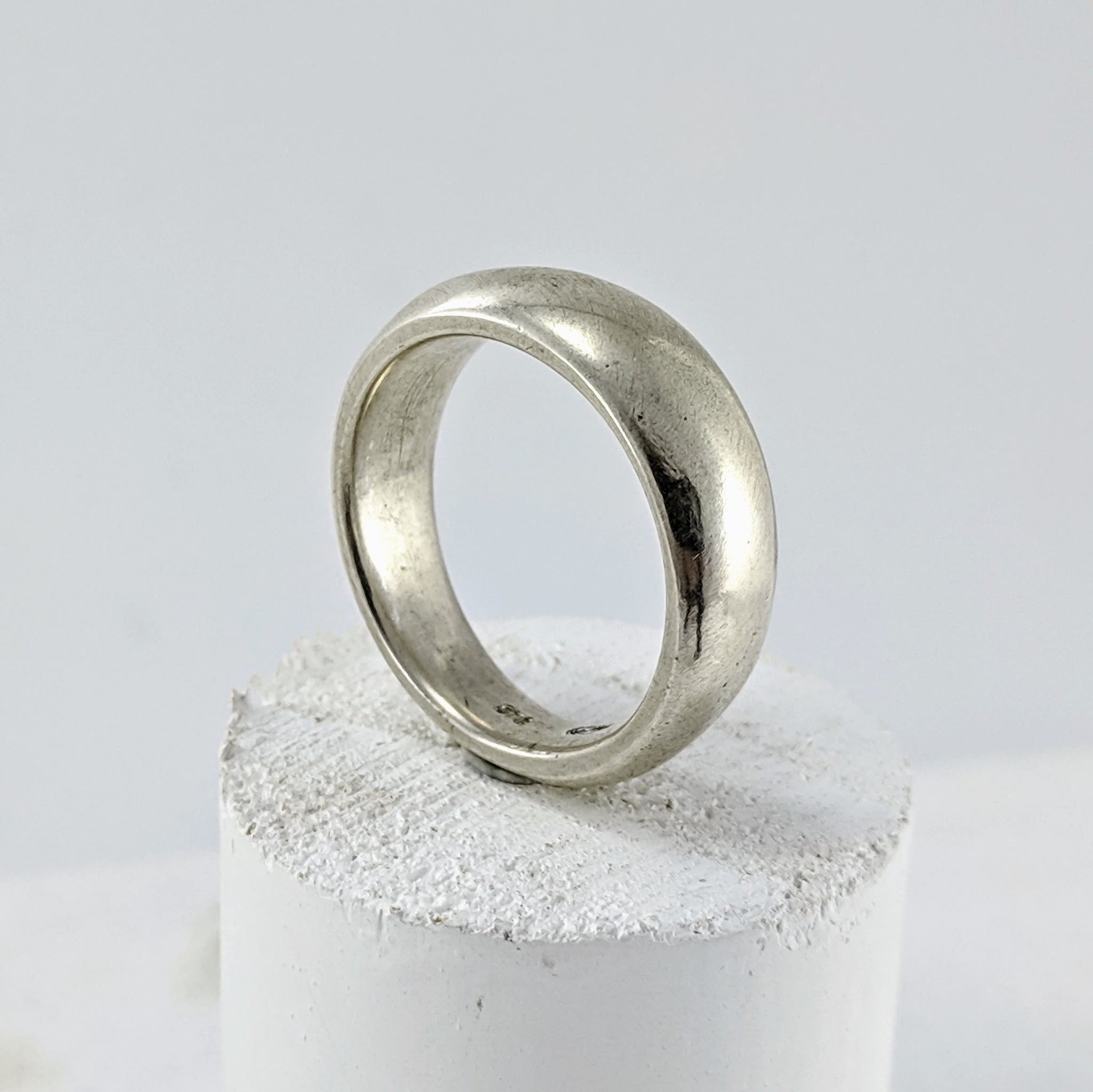 Solid silver ring by Buster Collins