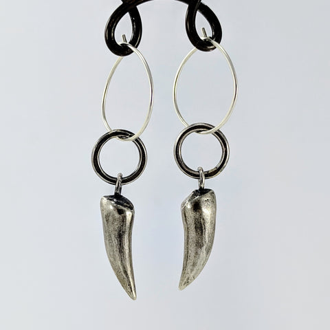 Tusk Earrings by Buster Collins