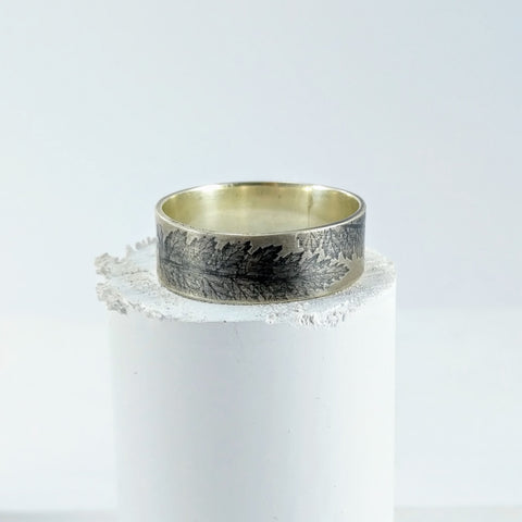 Fern Imprint Ring
