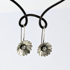 Single Daisy Drop Earrings
