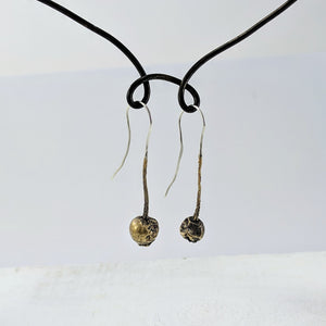 Rosehip Earrings - Bronze