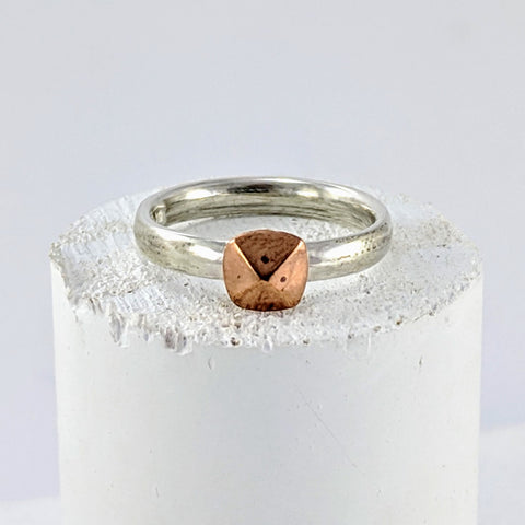 Nail Head Ring - Copper