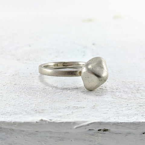 Cast Pebble Ring