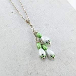 Snowdrop 3 Bloom Pendant