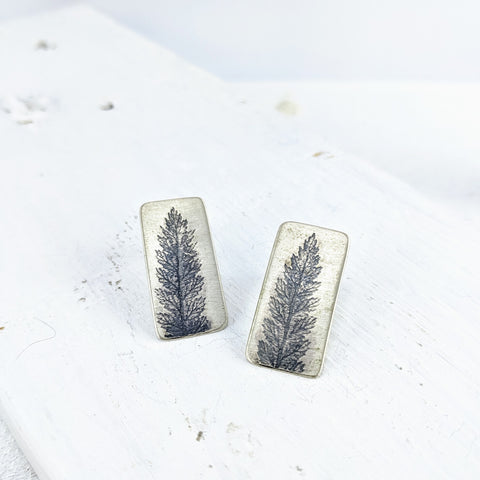 Fern Imprint Earrings