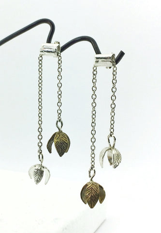 Kinetic Flower Earrings - Long