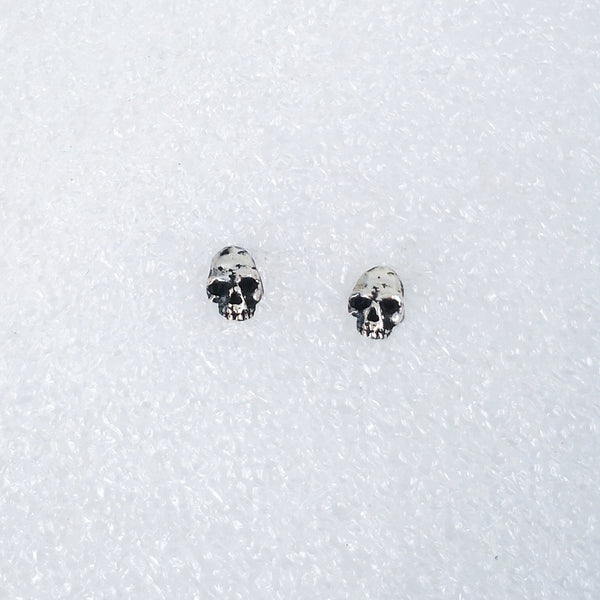 Tiny Skull Studs by Nick Rule