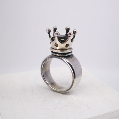 Crown Ring by Nick Rule