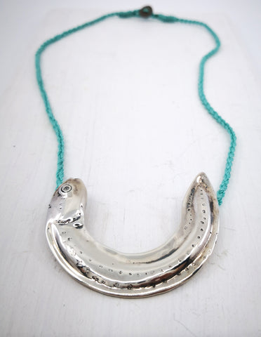 Whitebait Necklace by Vaune Mason