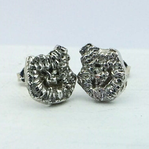 Silver Lace Studs - Small
