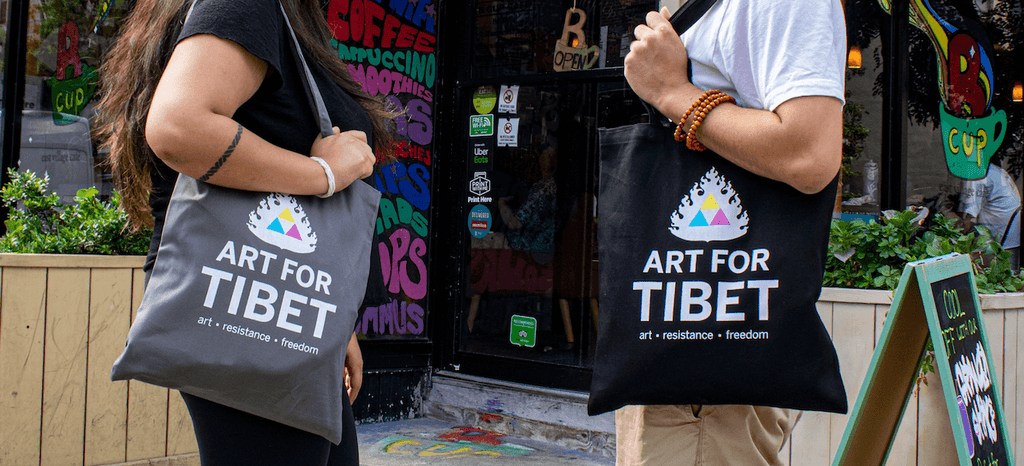 Art for Tibet Tote Bag