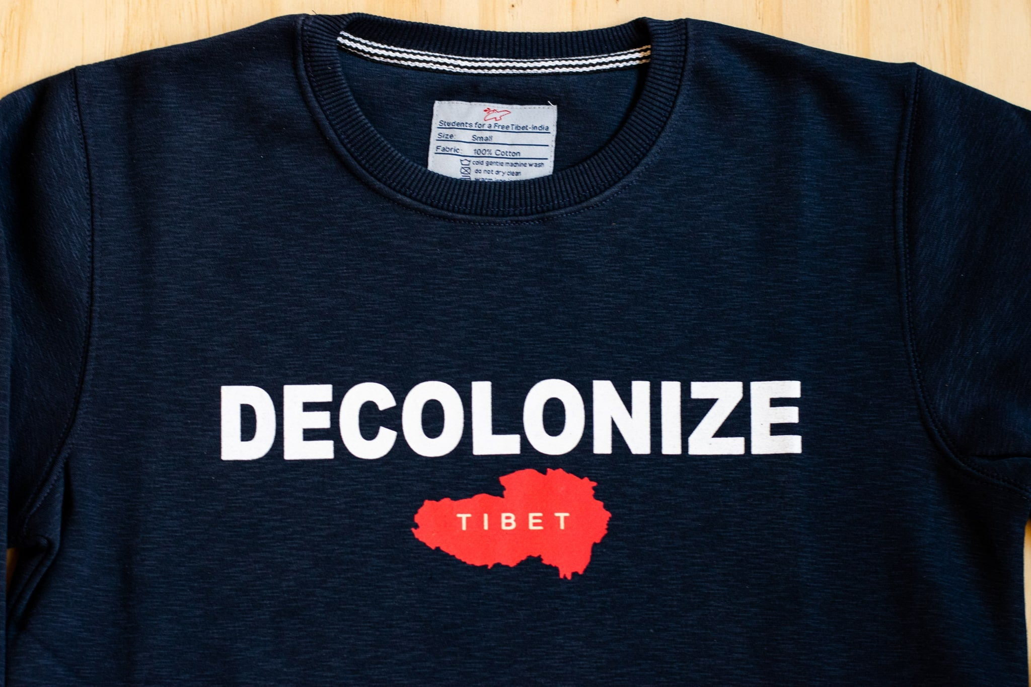 DECOLONIZE Crewneck Sweater WITH Pockets
