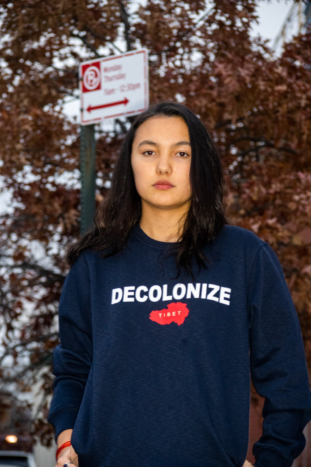 DECOLONIZE Crewneck Sweater