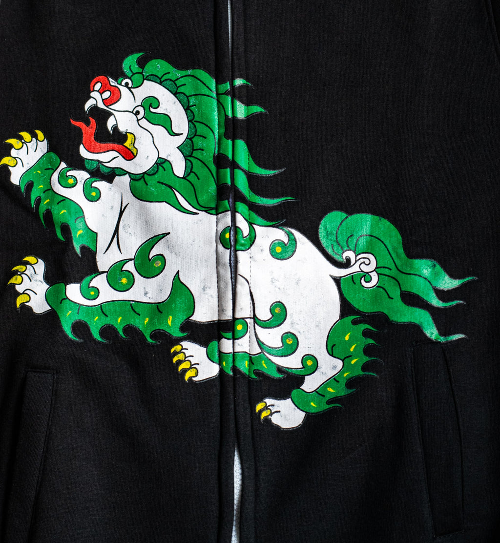 Snow Lion Full Zip Sweater